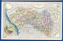 Les Colonies FRANCAISES   Afrique: GUINEE - Cartes Géographiques