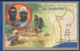 Les Colonies FRANCAISES   Afrique:   LE DAHOMEY - Cartes Géographiques