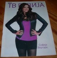 Sofía Vergara TV REVIJA Serbian November 2012 VERY RARE - Books, Magazines, Comics