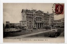BIARRITZ - 64 - Pays Basque - Hôtel Miramar (Voitures) - Biarritz