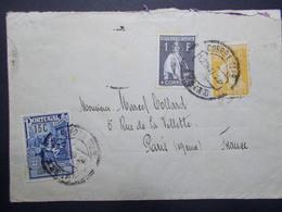 Marcophilie  Cachet Lettre Obliteration - Timbres - PORTUGAL - 1926 - (2370) - Marcophilie