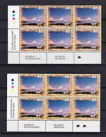 New Zealand 1995 Scenic 50c Mt Ngauruhoe Control Blocks Kiwi Reprints MNH - New Zealand