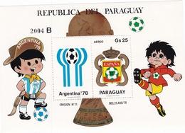 Paraguay Hb Michel 347 B - 1982 – Espagne