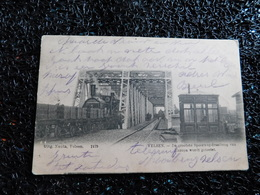 Velsen, De Grootste Spoorweg-draaibrug Van Europa Wordt Getoetst, 1904      (Y7) - Structures