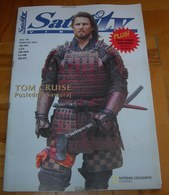 Tom Cruise - SATELIT TV Serbian February 2004 VERY RARE - Books, Magazines, Comics