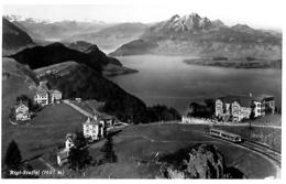 RIGI STAFFEL → Zugkomposition Mit Den Hotels Anno 1935 - SZ Schwyz