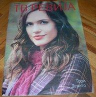 Torrey DeVitto TV REVIJA Serbian March 2018 VERY RARE - Magazines