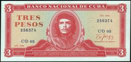 "CUBA - 3 Pesos 1988 {""Che"" Guevara} UNC P.107 B - Cuba"