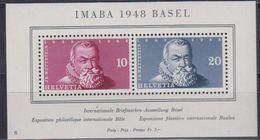 Switzerland 1948 Imaba M/s ** Mnh (42539) - Blokken