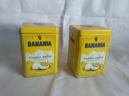 Lot De 2 Boites De Banania - Télécartes