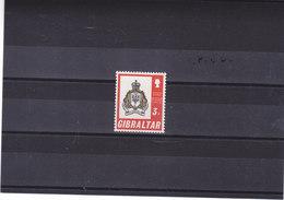 GIBRALTAR 1971 REGIMENT DE GIBRALTAR Yvert 278 NEUF** MNH - Gibraltar