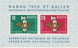 Switzerland 1959  Nabag St. Gallen M/s ** Mnh (42539B) - Blokken