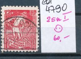 SBZ- Nr. 25a I  O -Plattenfehler    (ed4790  ) Siehe Scan - Sowjetische Zone (SBZ)