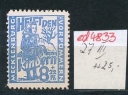 SBZ- Nr. 27  III  ** -Plattenfehler    (ed4833  ) Siehe Scan - Zone Soviétique