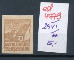 SBZ- Nr. 29 VI  ** -Plattenfehler    (ed4779  ) Siehe Scan - Sowjetische Zone (SBZ)