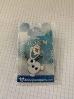 Pin's Disney Pins Disney - Collection Reine Des Neiges Frozen Olaf Neuf - Disney