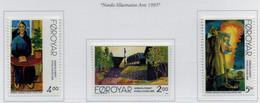 PIA -FAROER- 1995 : Arte Dei Paesi Nordici -  (Yv  276-78) - Isole Faroer