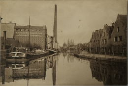 Bruges - Brugge // Quai Long - Nederlandsche Gist En Spiritus Fabriek 1910 Zeldzaam - Brugge