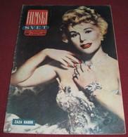 Zsa Zsa Gabor FILMSKI SVET December 1958 VERY RARE - Magazines