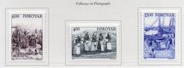PIA -FAROER- 1995 : Scene Di Vita Rurale D'inizio Secolo Nelle Isole Faroer -  (Yv  282-84) - Isole Faroer