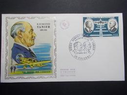 Marcophilie  Cachet Lettre Obliteration - Timbre - Raymond Vanier  1er Jour  - 1971 (2382) - Marcophilie (Lettres)