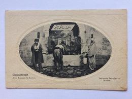 Turkey Türkei Turquie ~ 1920, Constantinople Istanbul, Ancienne Fontaine à Scutari, Alter Brunnen In Sutari - Turkije