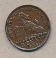 België/Belgique 2 Ct Albert1 1910 Vl Morin 309 (703161) - 02. 2 Centimes