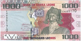Sierra Leona - Sierra Leone 1000 Leones 4-8-2013 Pk 30 B UNC - Sierra Leona