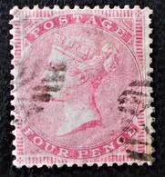 REINE VICTORIA 1854/58 - OBLITERE - YT 17 - DENTELE 14 - 1840-1901 (Victoria)