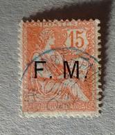 FRANCHISE MILITAIRE N°2 Cachet Bleu De Madagascar - Franchise Stamps