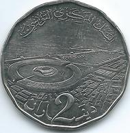 Tunisia - 2013 - 2 Dinars - Tunisia