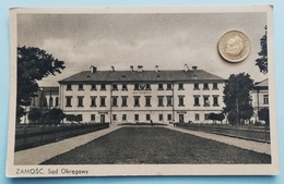 Zamosc, Polen, Sad Okregowy, 1930 - Polen