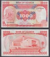 Uganda 100 Shillingi (Shillings) 1986 (AU) CRISP Banknote P-26 - Uganda