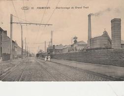 Frameries ,Charbonnage Du  Grand Trait ,( VPF , N° 15 ) Rail Du Tram - Frameries