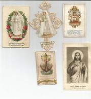 LOT 5 SOUVENIRS DE MA COMMUNION DONT 1 DE 1932 - Religion & Esotérisme