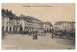 76 Dieppe Les Arcades De La Poissonnerie (2 Scans) - Dieppe