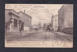 Peu Courante Maxeville (54) Route De Metz Et Pont Fixe ( A. Bergeret & Cie Nancy) - Maxeville