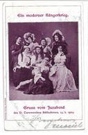 3030g: AK Altösterreich, Sudetenland, Juxabend Schluckenau 1904, RR - Tschechische Republik