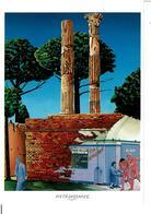ALAIN  1er De METROPOTAMIE 1988 -  ADAM ET EVE VIRES DU PARADIS  ( Huile 46 X 55 ) - VOIR SCANS - SUPERBE - Humor