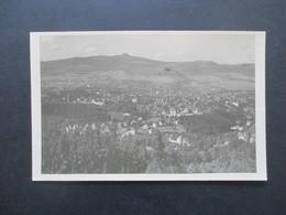 AK CSSR Liberec 7.10.1945 Violetter Stempel Cesky Narodni Aeroklub Liberec / Seltener Stempel!! Fliegerclub - Briefe U. Dokumente