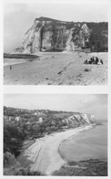 SHAKESPEARE CLIFF, DOVER & ST. MARGRET'S BAY~ AN OLD REAL PHOTO POSTCARD #93344 - Dover