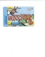 INDOCHINE Télécarte Prépayée Cambodge Vietnam Laos TB 2 Scans - Télécartes