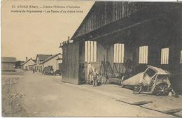 17 LOT 1 De 6 Belles Cartes Du Camp D'Avord Du CHER  , état Extra - 5 - 99 Postcards