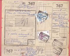 P-258 - Documents CF - Grande Vitesse - Ijlgoed - Oblitérations Différentes De 1957 - 1952-....