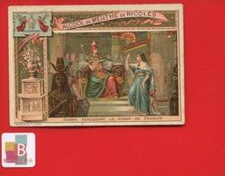 RICQLES Alcool Menthe Chromo Romanet Religion Joseph Songe Pharaon Egypte - Chromos