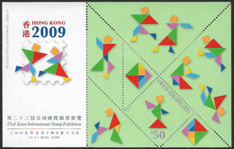 Hong Kong 2009 International Exhibition Sheet With Screener Unmounted Mint [4/4526/ND] - 1997-... Chinese Admnistrative Region