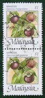 $1 Fruits Manggis Mangosteen 1986 Mi 333 Y&T 346 Used Gebruikt Oblitere MALAISIE MALAYA MALAYSIA - Malaysia (1964-...)