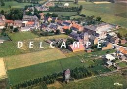 GEEL-LARUM (Antw.) - Molen/moulin - Luchtfoto Met De Kerk En De Molen Van Larum Vóór De Restauratie Ca. 1978 - Geel