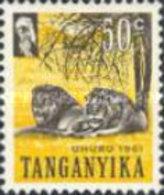 USED  STAMPS Tanzanaia Old Tanganyika - Independence Day -  1961 - Tanzania (1964-...)
