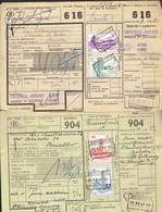 P-258 - Documents CF - Grande Vitesse - Expres - Oblitérations Différentes De 1957 - Railway